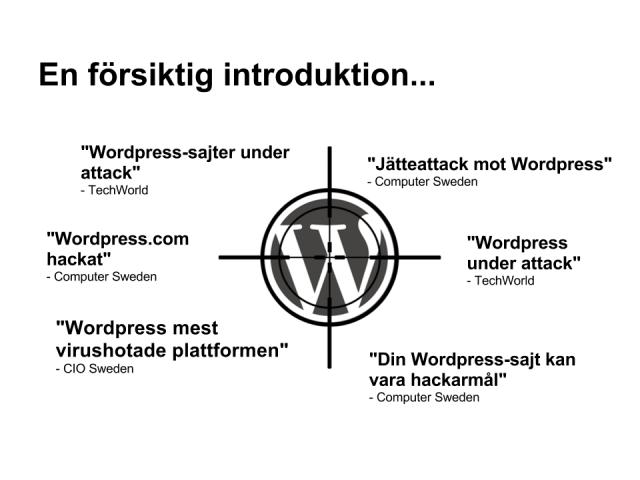 Säkerhet i WordPress