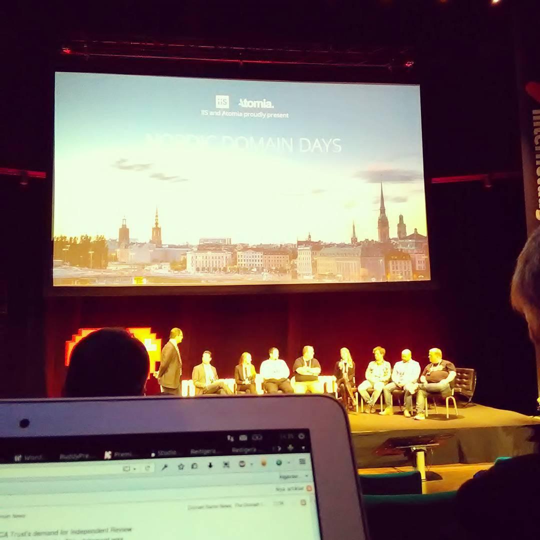 Paneldiskussion på Nordic Domain Days
