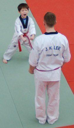 David vs. Goliat i Karate