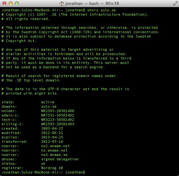 sulo.se med DNSSEC