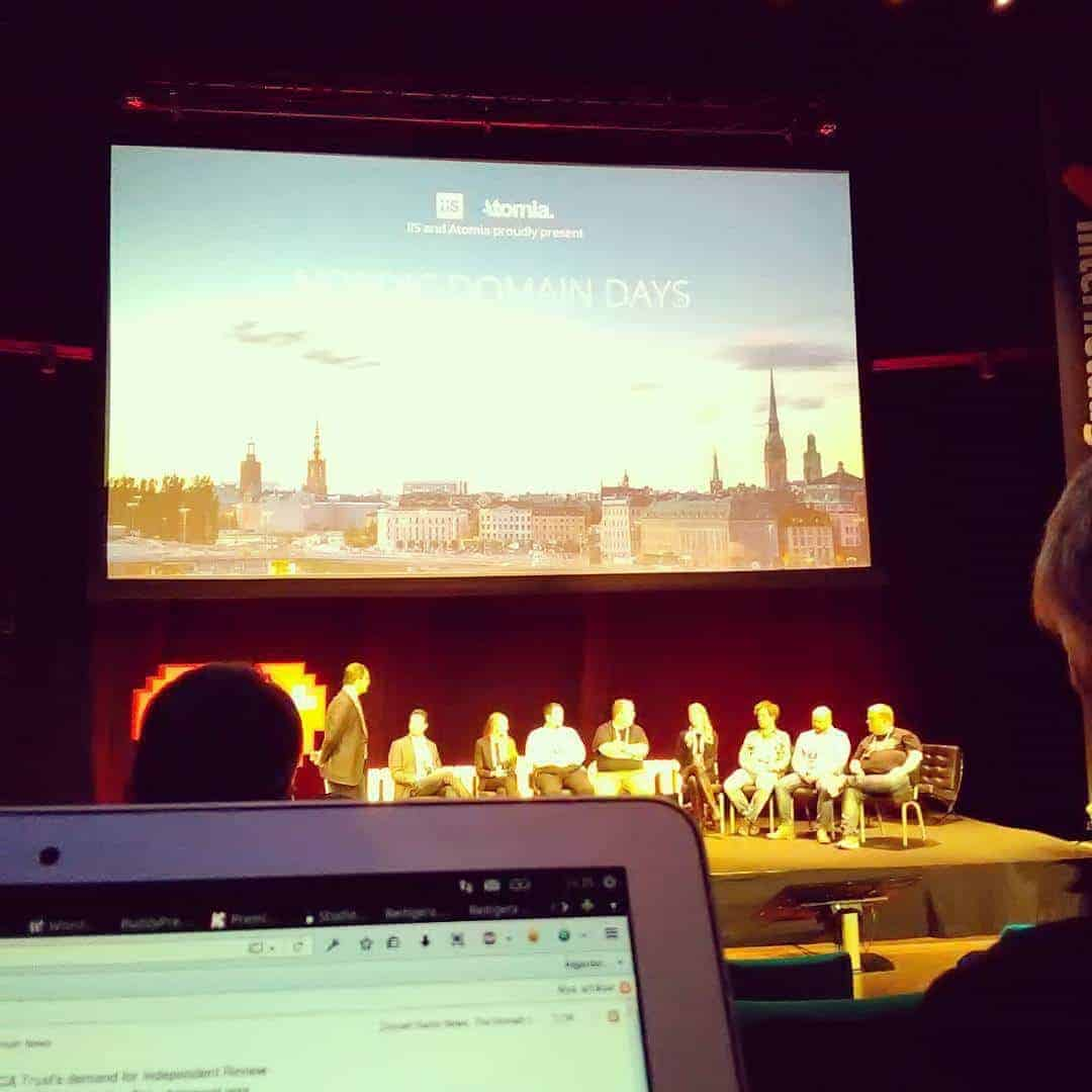 Paneldiskussion på Nordic Domain Days