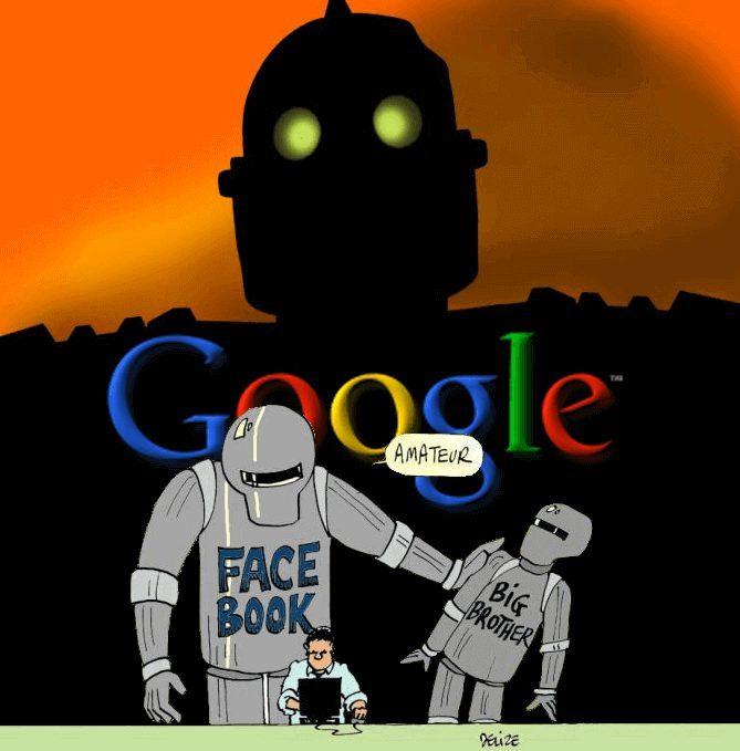 Google är största storebror