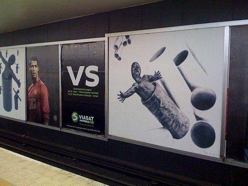 Ronaldo vs gubben i tuben