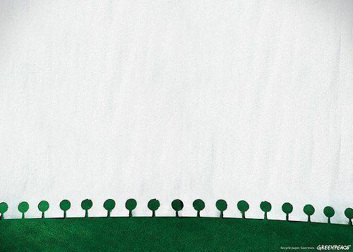 Smart reklam från Greenpeace